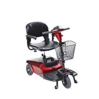 Driver Medical S38600 Bobcat 3 Wheel Compact Scooter, Red: Health & Personal Care
