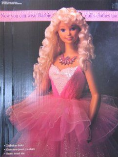 MY SIZE Barbie Doll w 3 Fabulous Looks (1992) Toys & Games