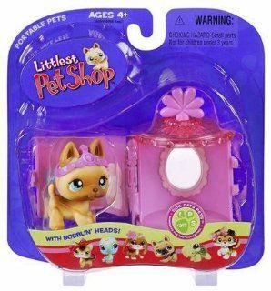 Littlest Pet Shop   Portable Pets   Set mit Katze LPS 212: Spielzeug