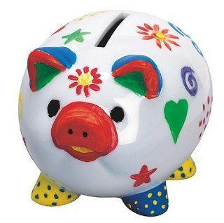 Piggy Banks Craft Kit (Makes 12): Toys & Games