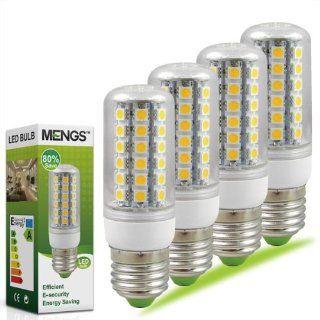4X MENGS� E27 LED Leuchtmittel & Birne Mais Licht 8W (Warmwei� 3000K   450LM   48 x 5050 SMD LED   360� Abstrahlwinkel   AC 220 240V   �32�98mm) Energiespar licht Beleuchtung