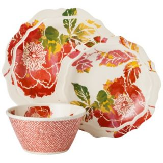 Threshold™ Scallop Floral Dinnerware Set of 12