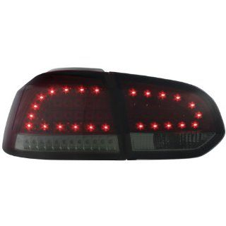 Dectane RV39LRS LED R�ckleuchten VW Golf VI _ mit LED Blinker_ red/smoke: Auto