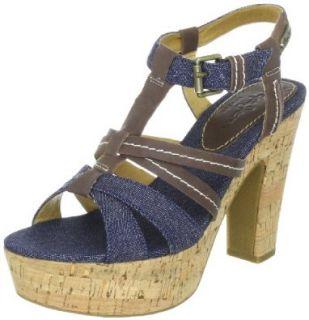 Pepe Jeans London GTH 251 B, Damen Fashion Sandalen Schuhe & Handtaschen
