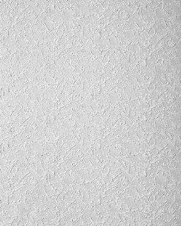 EDEM 261 50 Dekorative Struktur Vinyl Tapete 3D Metallic Effect feine silber Glitter wei�  7,95 qm   15 meter Küche & Haushalt
