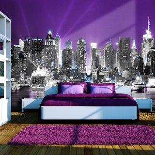 Vlies Tapete  Top  Fototapete  Wandbilder XXL  350x270 cm  New York  10040904 8 Küche & Haushalt