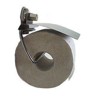 Edelstahl WC Rollenhalter Toilettenpapierhalter befestigen ohne bohren Vakuum Saugnapf Saughaken: Küche & Haushalt
