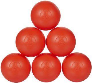 A&R Sports Hockey Balls, 6 Pack   Orange  Roller Hockey Balls And Pucks  Sports & Outdoors