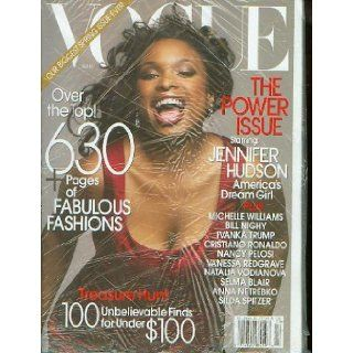 Vogue Magazine March 2007   Jennifer Hudson ((Plus Michelle Williams, Bill Nighy, Ivanka Trump, Cristiano Ronaldo, Nancy Pelosi, Vanessa Redgrave, Natalia Vodianova, Selma Blair, Anna Netrebko, Silda Spitzer)): Books