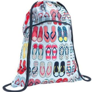 Thirty One Cinch Sac in Fun Flops   3039   No Monogram Shoulder Handbags Shoes