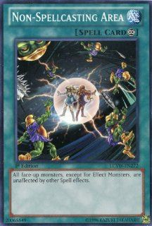 Yu Gi Oh   Non Spellcasting Area (LCYW EN272)   Legendary Collection 3 Yugi's World   1st Edition   Common Toys & Games