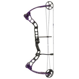 Quest Bliss Compound Bow LH 60 lbs. G Fade Realtree AP Purple 780084