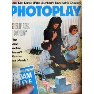 PHOTOPLAY magazine September 1964 with Jacqueline Kennedy, John Jr, and Caroline on the cover. INSIDE articles on Elizabeth Taylor, Patty Duke, Paul McCartney, Connie Stevens, Paul Newman. Dell Books
