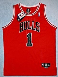 Authentic Adidas Derrick Rose Chicago Bulls Jersey, Size 50: Everything Else
