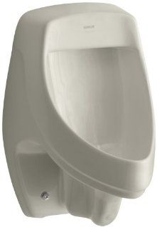 Kohler K 5016 ER G9 Dexter Elongated Urinal with Rear Spud, Sandbar