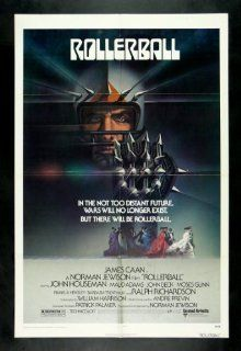 ROLLERBALL * CineMasterpieces ROLLER DERBY ORIGINAL MOVIE POSTER 1975 Entertainment Collectibles
