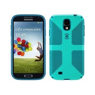 Speck Products CandyShell Grip Case for Samsung Galaxy S4 GS4   Retail Packaging   Caribbean Blue/Deep Sea Blue: Cell Phones & Accessories