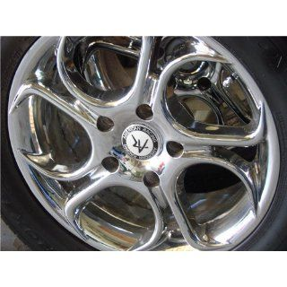"American Racing Nitro AR647 Chrome Wheel (16x8""/8x6.5"") Automotive"