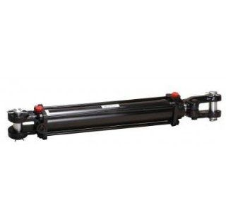 """Mighty Double Acting Hydraulic Tie Rod Cylinder 3.5"""" Bore x 36"""" Stroke"""
