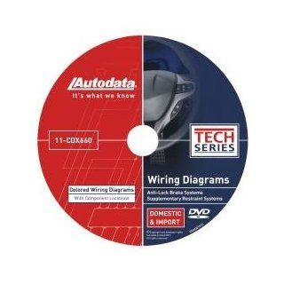 Autodata (ADT11CDX660) 2011 Wiring Diagrams DVD   SRS and ABS: Home Improvement