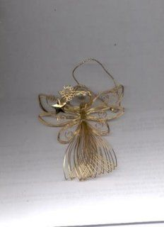 Avon Radiant Angel Ornament (Avon Gift Collection) 1997  Decorative Hanging Ornaments