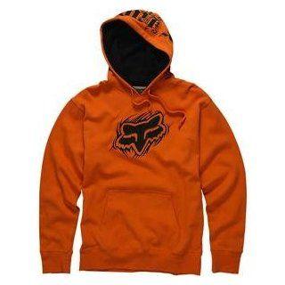 Fox Racing Mass Head Hoody   Medium/Burnt Orange Automotive