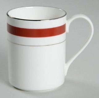 Ralph Lauren Normandy Crimson Mug, Fine China Dinnerware