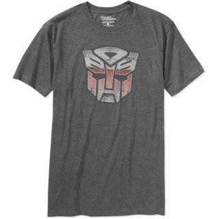Transformers Men?s Autobot Logo Vintage Tee