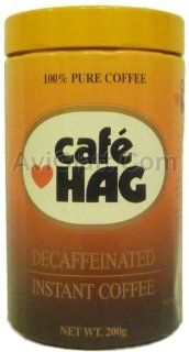 Cafe Hag Decaffeinated Instant Coffee