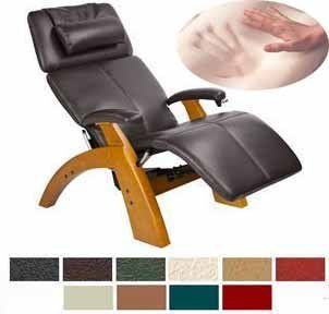 Shop Human Touch Manual Perfect Chair Recliner with Memory Foam Kit   PC6 / PC 6 Maple Recline Wood Base with Espresso Premium Leather   The Zero Anti Gravity Chair ViscoElastic Memory Foam Pads Included at the  Furniture Store