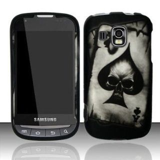 Samsung Transform Ultra M930 Accessory   Poker Skull Spade AceDesign Protective Hard Case Cover for Sprint / Boost Mobile: Cell Phones & Accessories