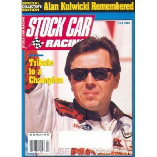 Stock Car Racing Magazine   Alan Kulwicki Remembered   Special Collector's Edition (July, 1993) Books