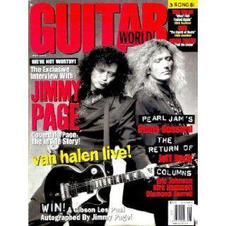 Guitar World   May 1993 Jimmy Page, David Coverdale, Van Halen, Jeff Beck, and More Brad Tolinski Books