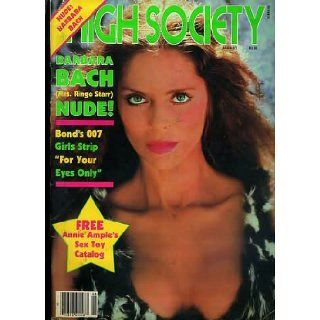 HIGH SOCIETY MAGAZINE BARBARA BACH AUGUST 1981: Gloria Leonard: Books