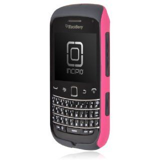 Incipio BB 356 BlackBerry Bold 9790 SILICRYLIC Hard Shell Case with Silicone Core 1 Pack   Retail Packaging   Pink/Gray: Cell Phones & Accessories