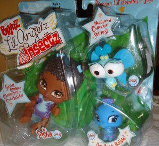 Bratz Lil' Angelz Insectz SASHA 348 Precious Lil' Bundles of joy!: Toys & Games