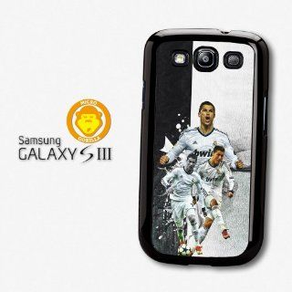 Cristiano Ronaldo Collage Real Madrid Football case for Samsung Galaxy S3 A358: Cell Phones & Accessories