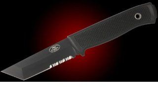 Fallkniven PRK Police Rescue Knife Tanto : Knife Blades : Sports & Outdoors