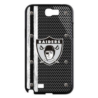 NFL Oakland Galaxy Note 2 Case Top Designer Oakland Raiders Logo Slim Styles Hard Case Cover For Samsung Galaxy Note 2 N7100: Cell Phones & Accessories