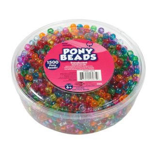 Purchase Kids Craft Plastic Pony Beads for less at. Save money. Live better.