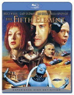 The Fifth Element (Remastered) [Blu ray] Bruce Willis, Gary Oldman, Ian Holm, Milla Jovovich, Chris Tucker, Luc Besson Movies & TV