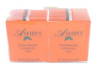 Ashbys Cinnamon Orange Tea Bags, 20 Count Box : Grocery Tea Sampler : Grocery & Gourmet Food