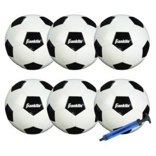 Franklin Sports Competition 100 6 Pack of Soccer