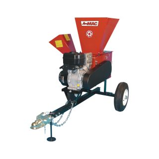 Merry Mac Highway-Towable Chipper/Shredder — 249cc Briggs & Stratton Intek OHV Engine, 3 1/2in. Capacity, Model# 12PHT1100M  Chippers, Shredders   Stump Grinders