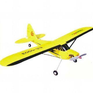 MaxSale EPO Mini Piper J3 Cub 4CH RC Remote Control Airplane ES 9903 RTF Toys & Games