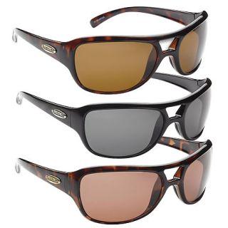 Fisherman Eyewear Guideline Pro Pilot Fish Sunglass   Black Frame/Gray Lens 428105