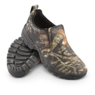 Men's Guide Gear Slip   on Mocs Mossy Oak, MOSSY OAK, 7M: Shoes