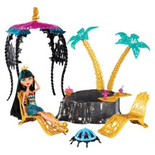 Monster High 13 Wishes Oasis Cleo De Nile Doll &