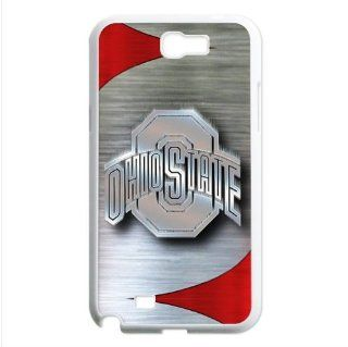 NCAA Ohio State Buckeyes Logo Samsung Galaxy Note 2 N7100 Waterproof Designer Hard Case Cover Protector Cell Phones & Accessories