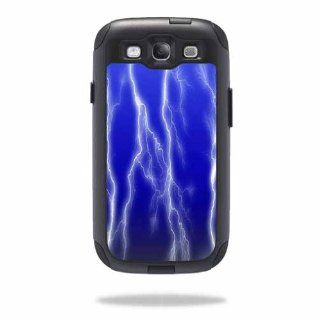 MightySkins Protective Vinyl Skin Decal Cover for OtterBox Commuter Samsung Galaxy S III S3 Case Sticker Skins Lightning Storm: Cell Phones & Accessories